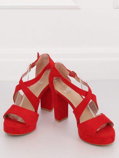 182a07c99a Dámske sandále na platforme červené Melissa - 2